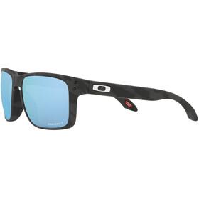 Oakley Holbrook Sunglasses Men, zwart/blauw